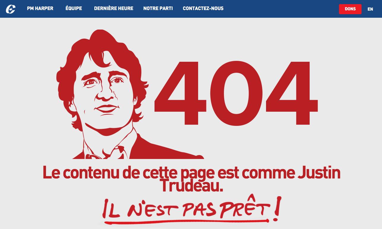 Page 404 du Parti conservateur du Canada