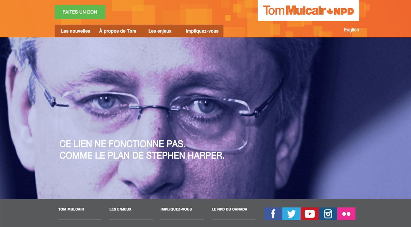 Page 404 du Nouveau Parti démocratique du Canada